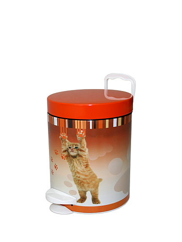Kosz na śmieci do łazienki Meliconi Cat 5L