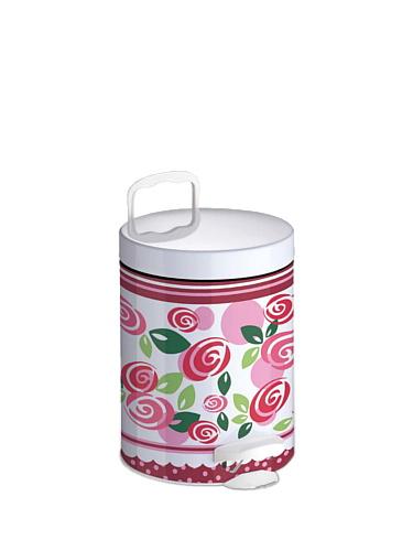 Kosz na śmieci łazienkowy Meliconi Rose 5L