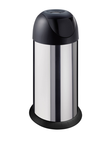 Kosz na śmieci meliconi bullet nierdzewny 40L