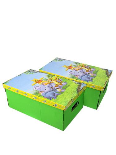 Pudełko na zabawki Eco Box Kubuś Puchatek